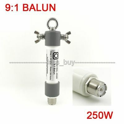 9:1 BALUN Mini BALUN Withstand 250W SSB for HAM radio QRP Frequenc:1.0 - 54MHz