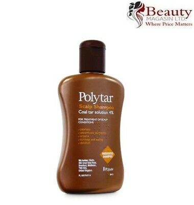 Polytar Scalp Shampoo 150ml - Coal Tar 4%