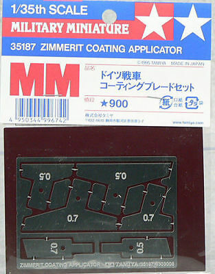 Tamiya 35187 1/35 Scale Military Tank Model Zimmerit Coating Applicator Tools