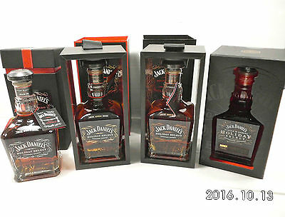 Jack Daniels Holiday Select 2011,212,213,& 214 -Now Deleted Line-Yes Full Set!