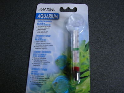 Marina Aquarium Glass Floating Thermometer / suction cup