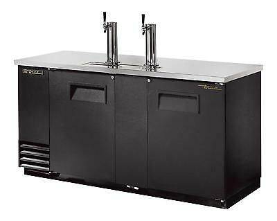 True TDD-3 Direct Draw Draft Beer Dispenser Cooler 3 Keg Capacity