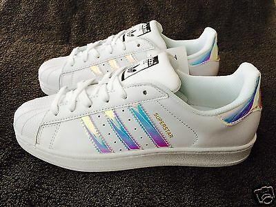 Adidas Superstar Women's Trainers Iridescent Dubai UK Size 3.5 4 4.5 5 5.5 6