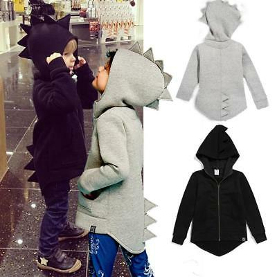 Cute Child Baby Dinosaur Dragon Funny Autumn Coat Hoodie Girls Boys Kids Jacket