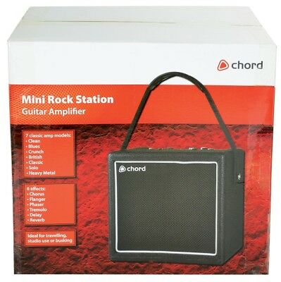 Portable Mini Rock Station Party Guitar Amplifier Chord 173.327UK