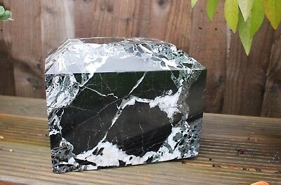 Adult Cremation Ashes Urn Large Outdoor Marble garden funeral memorial Black Urn