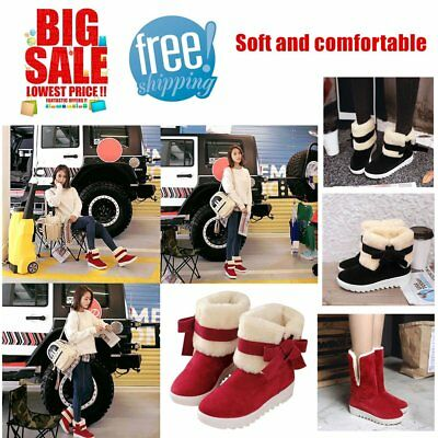 Women Boots Women Winter Fashion Shoes Solid Snow Boots Female Ankle Boots GT