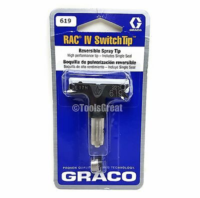 Graco Rac 5 286619 Switch Tip Paint Spray Tip Size 619