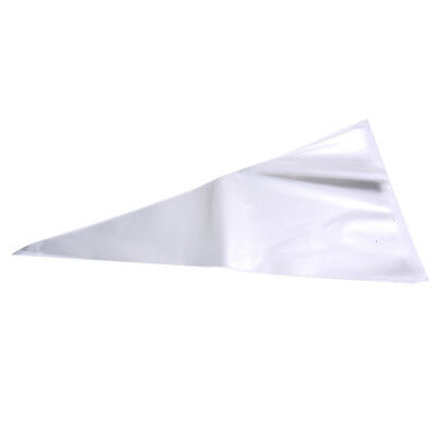 A pack of 50 transparent opp triangle bag of plastic bags