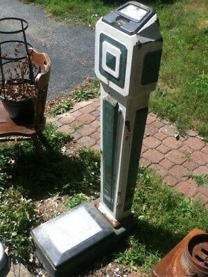 Rock-Ola Penny Coin Op Scale / Penny Standing Scale 30s era / Works / Orig Paint