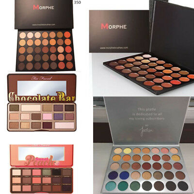 AU Morphe Jaclyn Hill Eyeshadow Palette Shimmer/Matte Eye Makeup Powder Beauty