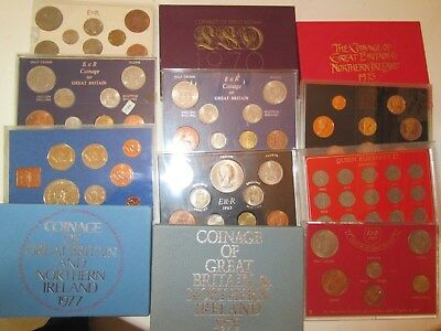 Queen Elizabeth II Coin Year & type Coin Sets See Varieties For Details
