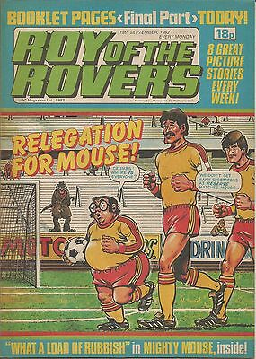 Roy Of The Rovers - Comic - 18-09-82 - (006)