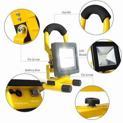 Portable LED Work Light 700 Lumens Durable Flashlight Garage 360 Bright Lamp