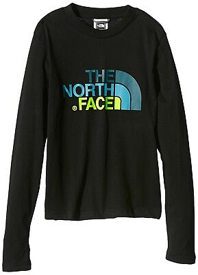 (Small, blue - Monster Blue) - The North Face Children's Shirt Long-Sleeved