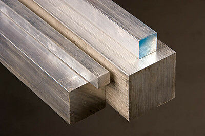 "Aluminum Square Bar (6061-T6) 1.75"" x 1.75"" x 12"""