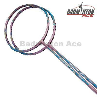 2 x APACS FEATHER WEIGHT 55 (World Lightest) Badminton Racket Free String & Grip