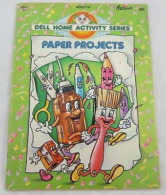 Dell Home Activity Series Paper Project Kids Crafts Book 1979