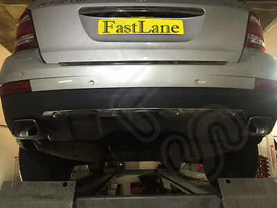 Mercedes GL Class Custom Built Stainless Steel Exhaust Cat Back Dual System MGL1