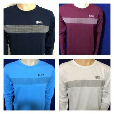 Hugo Boss Long Sleeve Crew Neck T-Shirt For Men