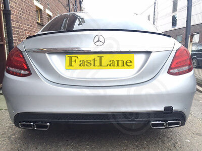 Mercedes C220 Custom Built Stainless Steel Exhaust Cat Back Dual System MC06