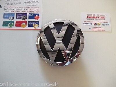 Volkswagen Crafter 'VW' emblem badge for rear door!  COMPLETE - NEW - GENUINE!