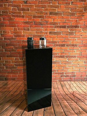 Display Podiums 5 Sided Open 1 end Black, White or Clear