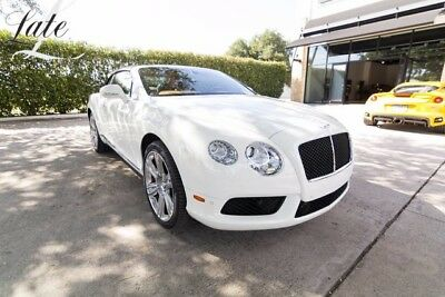 2013 Bentley Continental GT GTC V8 Convertible 2-Door GT Convertible, special ordered, very nice ONE OWNER CPO!!
