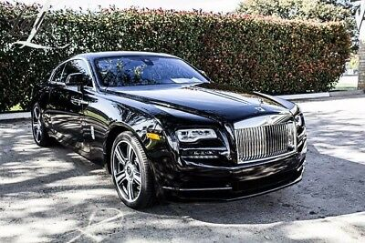 2017 Rolls-Royce Other Base Coupe 2-Door Diamond Black over Black leather!
