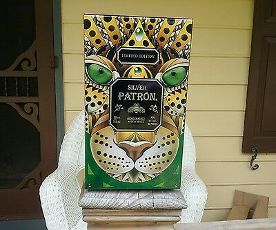 Patron Silver Tequila Limited Edition Tin Box
