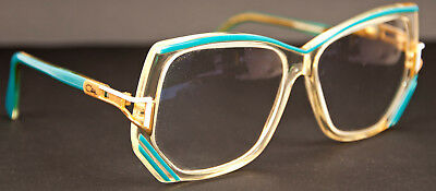 Vintage 80s CAZAL Mod 176 Eyeglasses Frames 55-13-130 Made in Germany
