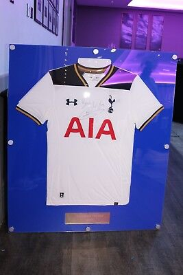 Personalized football Shirt displays case wall mounted