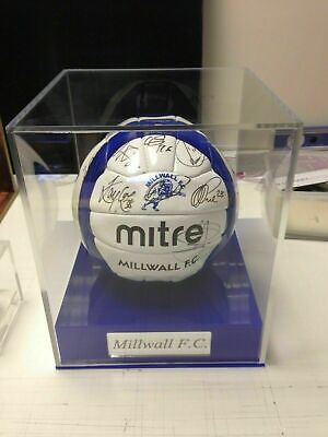Football Display Case Personalised With Various Options