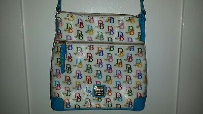 NEW Dooney & Bourke CrossBody 1975 Messenger Bag & Wristlet WOT $85