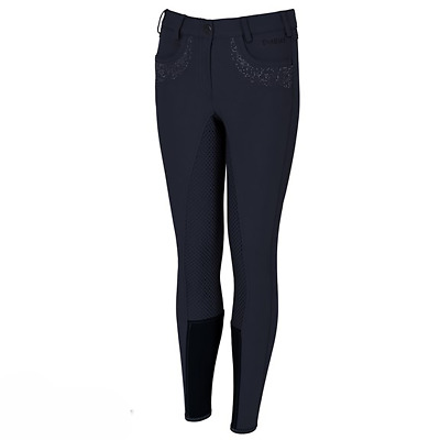 Pikeur Kalotta Girls Grip Full Seat Breeches - Nightblue