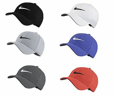 a6182bb3 2017 Nike Golf AeroBill Legacy 91 Perforated Hat Mens Adjustable Cap 856831