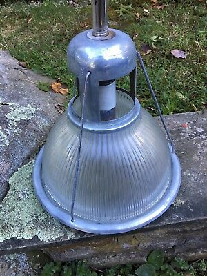 1 Vintage 1940s Holophane Light Industrial Shade Warehouse BARN Factory GYM mcm