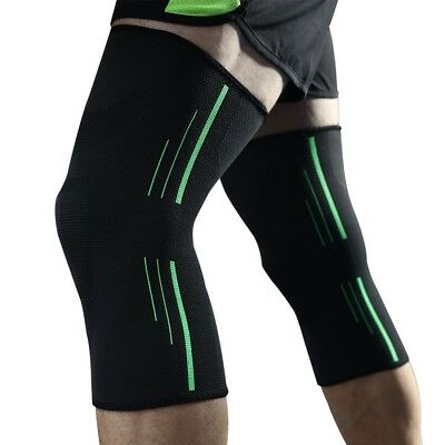 Knee Support Sleeves (Pair) for Running, Jogging, Sports, Joint Pain Relief,