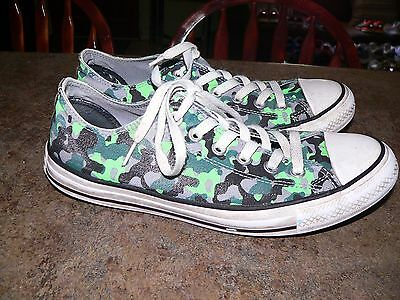Converse All-Star Chuck Taylor Low Camo Canvas Shoes Mens 7 Womens 9