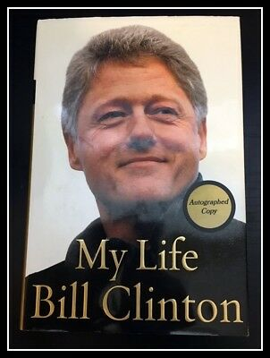 AUTOGRAPHED HAND SIGNED My Life by President BILL CLINTON 1st Ed + COA Free SHIP