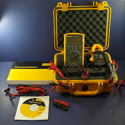 Fluke 787 Processmeter, Excellent condition Bonus CLAMP, Original Box, Hard Case