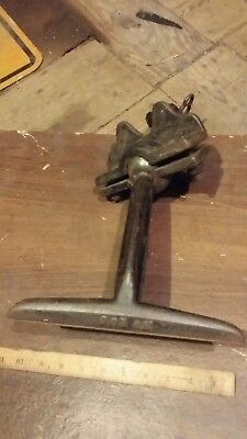 Vintage Sargent #105 Cast Iron Bench Clamp Saw Sharpening Vise