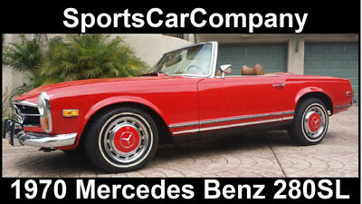 1970 Mercedes-Benz SL-Class  1970 MERCEDES BENZ 280SL ROADSTER SUPERB QUALITY INSIDE & OUT CLASSIC!