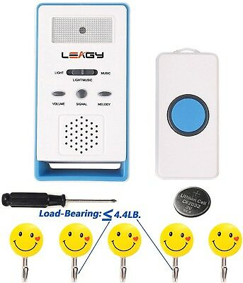 LEAGY Wireless Paging System Remote Call Button Nurse Call System Caregiver And