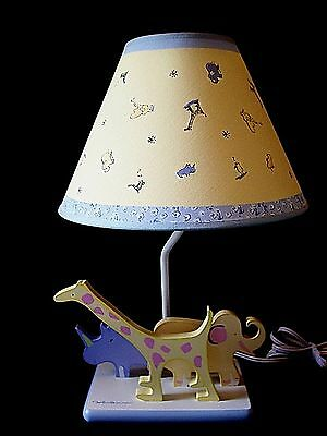 Carters John Lennon Real Love Baby Lamp 1999 Yellow Shade Very Good Condition