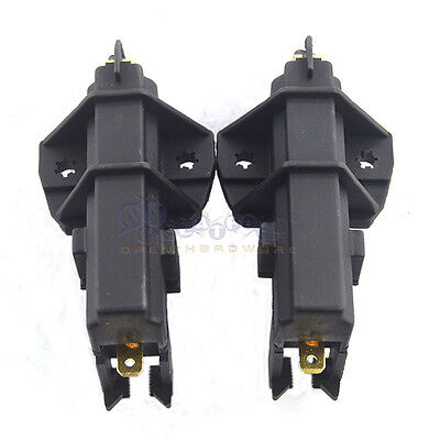 2Pcs 5x12.5x35mm Motor Carbon Brushes for SIEMENS WASHING MACHINE TEUS
