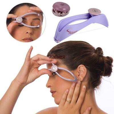 Womens Beauty Tool Manually Threading Face Facial Spa Hair Remover ES88