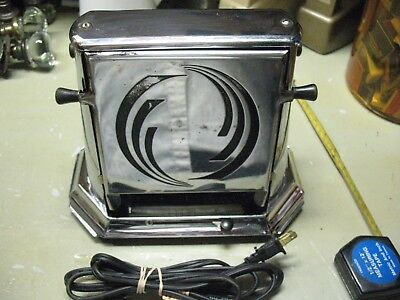 SAMSON  TOASTER  291  ART  DECO w/ BUILT IN  TIMER   IN WORKING CONDITION