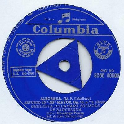"Orquesta De Cámara Solistas De Barcelona - Alborada - Import - 7"" Single"