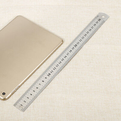 Stainless Steel 30mm Combination Square Rule Machinist Tool Ruler Angle